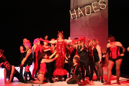 Picture from Orpheus in the Underworld - will Il Torvatore rehearsals feel like Hades?! Of course not!
